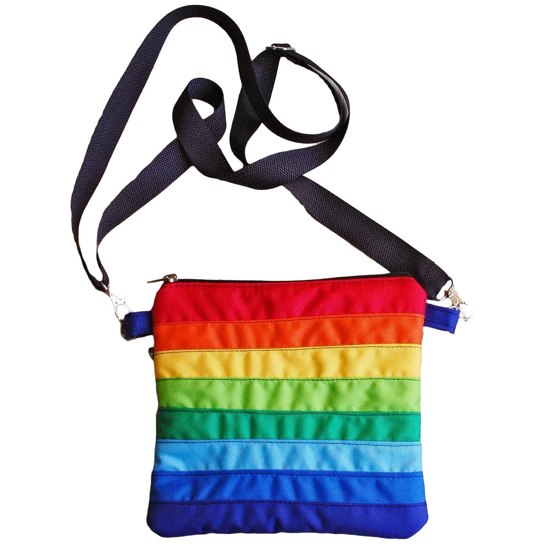 Over item Regular store handling ☆ Rainbow Crossbody Bag LGBT Pride Lesbian Accessory Pouch Gay