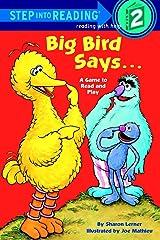 Big Bird Says... (Sesame Street) (Step into Reading) Kindle Edition