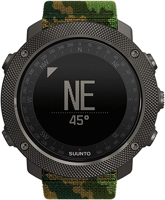 Suunto Traverse Alpha GPS Watch, Woodland