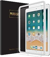 Nimaso ipad 9.7 ガラスフィルム (2018/2017 新型)/ iPad Pro 9.7 /Air2(2014)/Air (2013)/New iPad 9.7インチ 用 フィルム 旭硝子製 強化ガラス 液晶保護フィルム【9月26日からガイド枠付き】