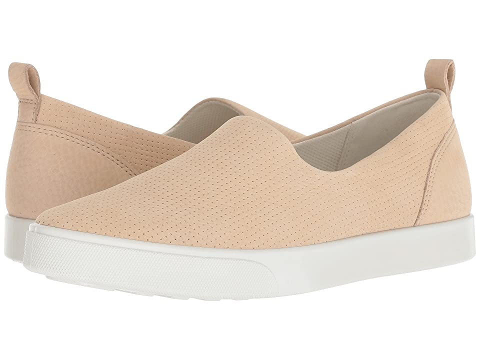 ECCO Gillian Casual Slip-On (Powder Cow Nubuck) Women