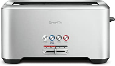 Breville Lift and Look Toaster, Brushed Stainless Steel BTA730BSS