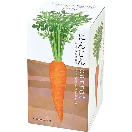 聖新陶芸 おうちで根菜栽培セット にんじん サイズ:約W10.3 D10.3 H18.8 GD-89102
