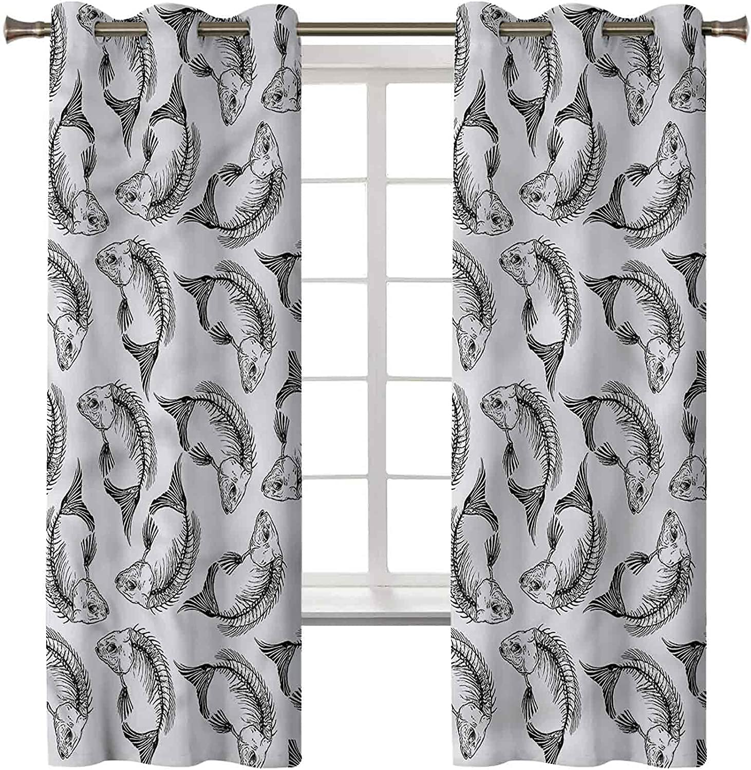 Blackout Window Popularity Curtain Energy Smart Treatment Max 53% OFF Sk Drapes