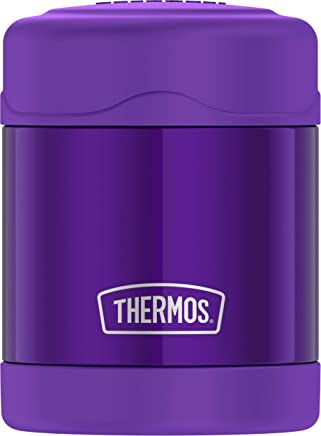 Thermos Funtainer Stainless Steel Food Jar, Violet, 10oz