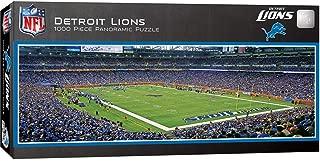 MasterPieces NFL Detroit Lions Stadium Panoramic Jigsaw Puzzle, 1000 Pieces