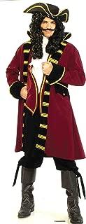 Forum Designer Deluxe Pirate Captain Costume