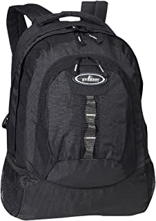 Everest Luggage Multiple Compartment Deluxe Backpack