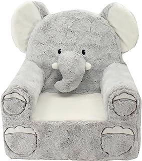 Animal Adventure | Sweet Seats | Grey Elephant Children's Plush Chair
