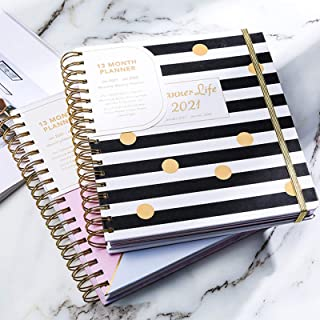 $39 » 2021 Year Daily Planning Book, 13 Monthly Pages Notepad,Weekly & Monthly Planner Organizer, Diary,Future Calendar for Plan...