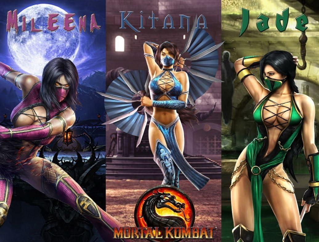 G34 Mortal Kombat So Real it Hurts Art Poster Silk Cloth