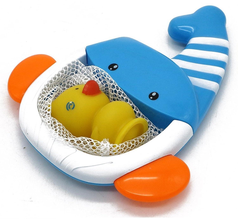VERZABO Whale net bath toy set for 12 months plus babies [並行輸入品]