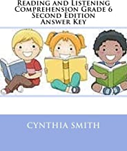 Reading and Listening Comprehension Grade 6 Second Edition Answer Key