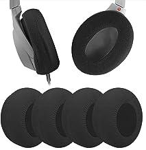 Geekria 2 Pairs Medium Knit Fabric Washable Headphone Covers/Earphone Covers/Ear Pads Protector/Stretchable Sanitary Earcu...