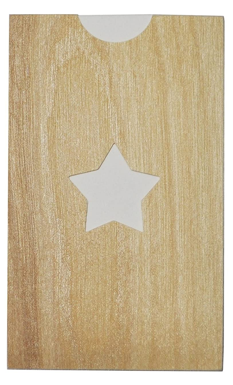 メンタル攻撃バラエティyuica(ユイカ) 香りのカード /星(ヒノキのシートケース+ムエット紙10枚)