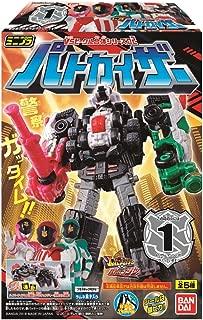 Kaitou Sentai Lupinranger VS Keisatsu Sentai Patoranger - Mini-Pla VS Vehicle Gattai Series 02 Patkaiser 12Pack Box (Candy Toy)