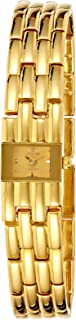 Spectrum Women's Dial Brass Plated Band Watch - 22225L-2