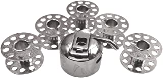 1032 Original Pfaff Universal Nadeln f/ür Pfaff N/ähmaschinen Hobby 1122 1132 1042 1022 5X Kunststoff Spulen 1142