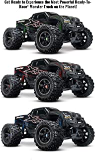 Traxxas X-Maxx: Brushless Electric Monster Truck with TQi Link Enabled 2.4GHz Radio System & Traxxas Stability Management (TSM)