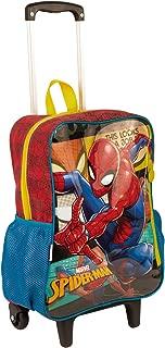Mochila Poliéster Com Rodas Spiderman 18M 64985 - Sestini