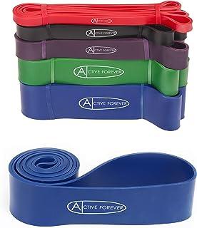 Aktiv FOREVER 35 ~ 175 Lb spänningsassisterad övningsresistens band, latexring, lämplig för stretchning av träning, styrke...