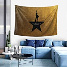 ISWOHJzzz Hamilton The Musicals Tapestry,Home Deco Tapestry Wall Hanging for Bedroom 60 X 40 Inches