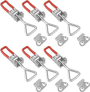 per imballaggio Morsetto Piccolo Interruttore Regolabile,Morsetto Per Chiusura chiusura a levafibbia metallo per armadietti custodia Blocco Leva 6pcs cassetto serratura