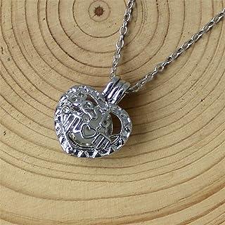 Collana di bagliore, Mamma Luna stella luminosa in lega Jewelry Collana con ciondolo placcato halloween