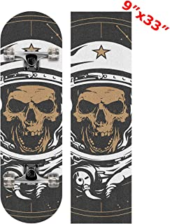 skull scooter grip tape