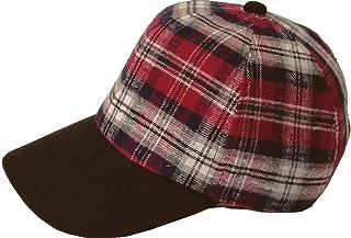 [ろしなんて工房] 帽子 ベースボールキャップ SP482 ネルチェックコンビ545 大きいサイズOK [日本製]
