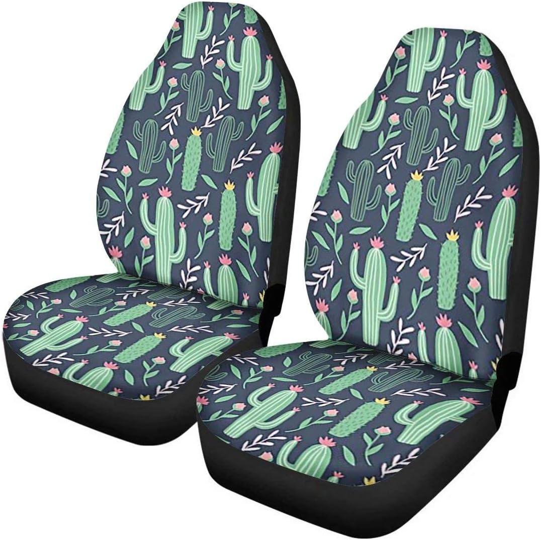 GePrint Green Cactus Car New sales Seat Vehicle Financial sales sale Cartoon Cover Design