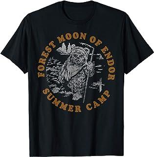 Star Wars Forest Moon Of Endor Summer Camp Camiseta