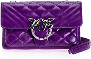 Luxury Fashion | Pinko Womens 1P21NDY66HLP5 Purple Shoulder Bag |