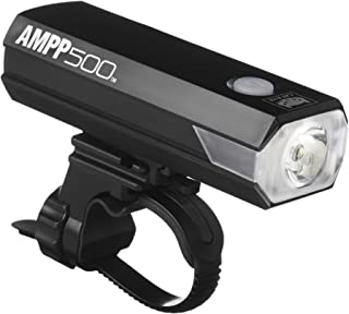 CAT EYE - AMPP500 Rechargeable Bike Headlight, High Power LED, 500 Lumens, with Micro USB Cable