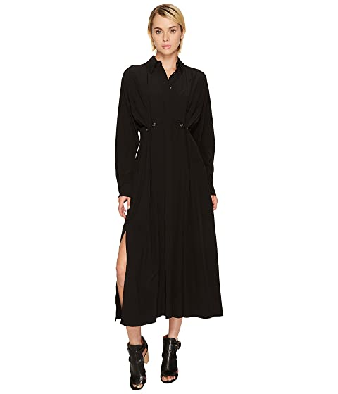 Shirt Collared Long Oxalis Dress Sportmax Sleeve wStOT