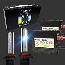 O-NEX HB3 H10 9005 9145 35W AC Xenon HID Lights Assembly with Slim Digital Ballast 6000K Crystal White