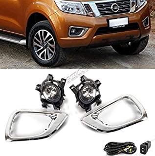 RP Remarkable Power, Fit For 2014 2015 Navara NP300 Fog Lights Bumper Lamps Kit Clear Front Left & Right FL7067