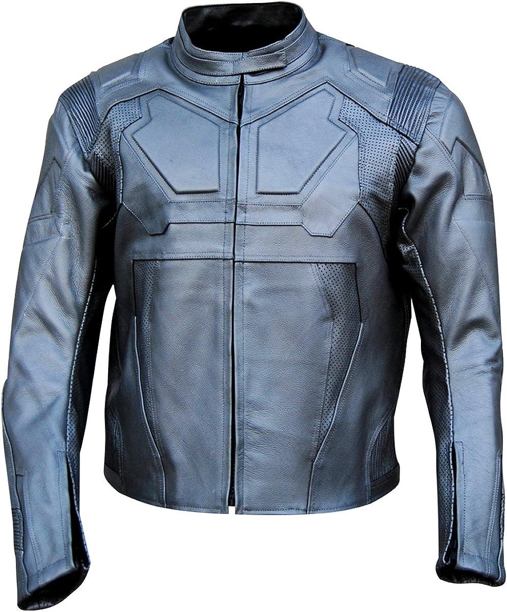 coolhides Men's Oblivion Real Leather Motorcycle Jacket