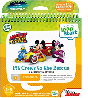 LeapFrog LeapStart 3D Mickey and the Roadster Racers Book, Great Gift For Kids, Toddlers, Toy for Boys and Girls, Ages 2, 3, 4, 5