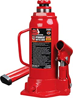 Torin Big Red Hydraulic Bottle Jack, 10 Ton Capacity
