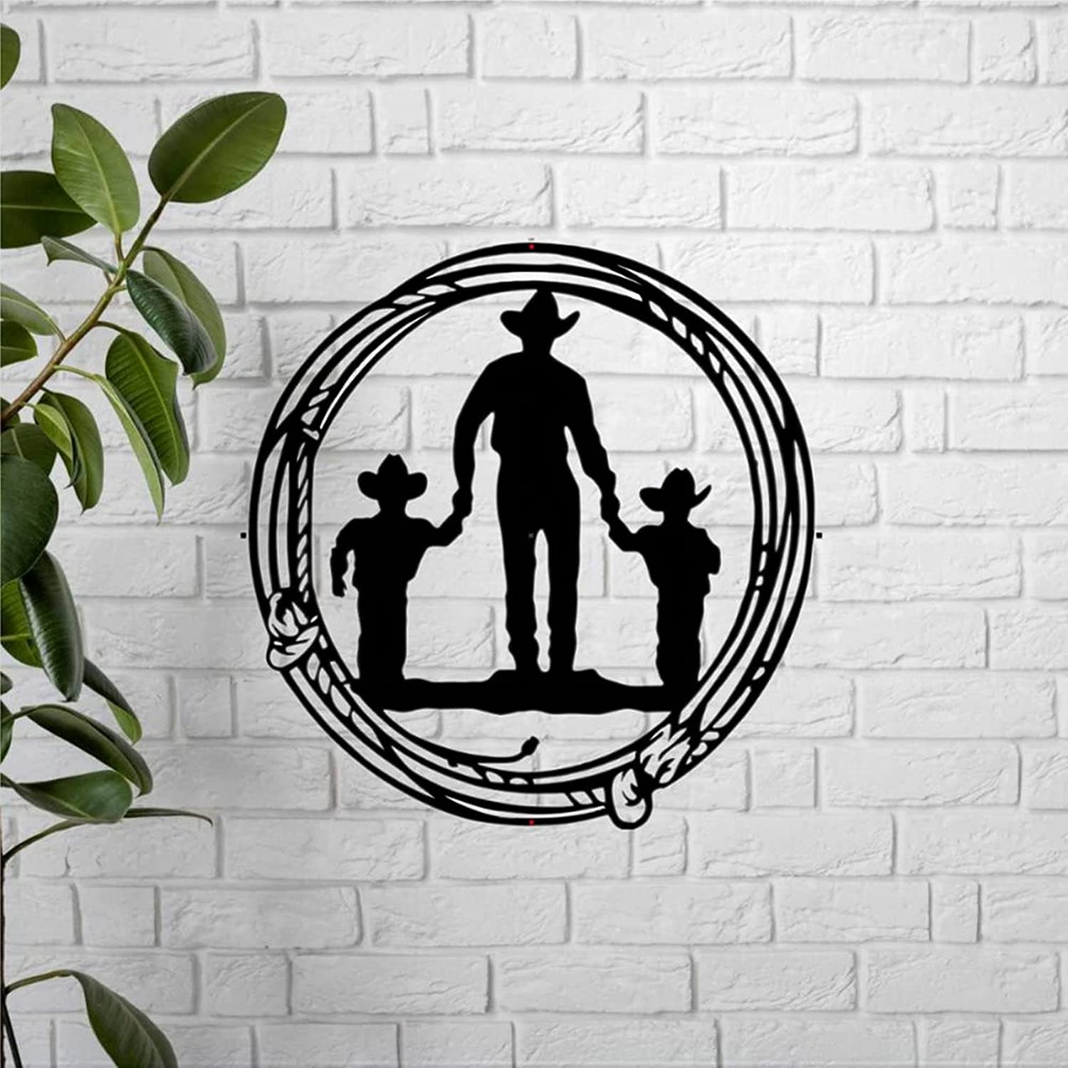 Custom Metal Sign Wall Now free shipping Very popular Decor Sons Cowboy Art Personalized