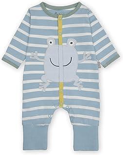 Sigikid Baby-Jungen Classic Bio-Baumwolle für Kinder Overall mit Klappbündchen