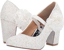 White Iridescent Glitter