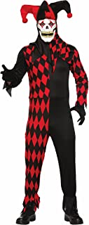 Best evil jester costume red black Reviews