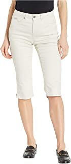 Soft Hues Denim Olivia Pedal Pusher in Straw