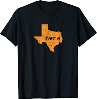 Texas State Home Heart College University Student Gift Shirt