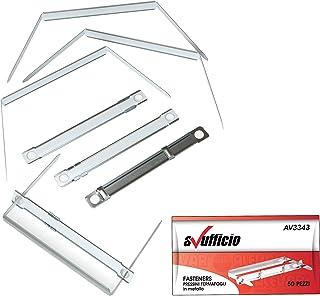 File Fastener Passo 8 cm Conf. 50 Pz.