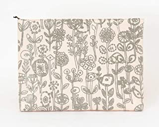 SIWA(シワ) URUSHI クッションケース S-ipad letter of flower (ミナ ペルホネン) 日本の伝統産業「漆」と「和紙」を融合させたクッションケース