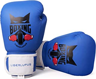 Liberlupus Kids Boxing Gloves for Boys and Girls, Boxing Gloves for Kids 3-15, Youth..