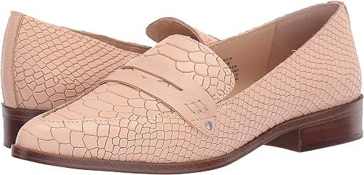 Bisque Python Leather